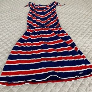 Vineyard vines red white & blue dress size small.